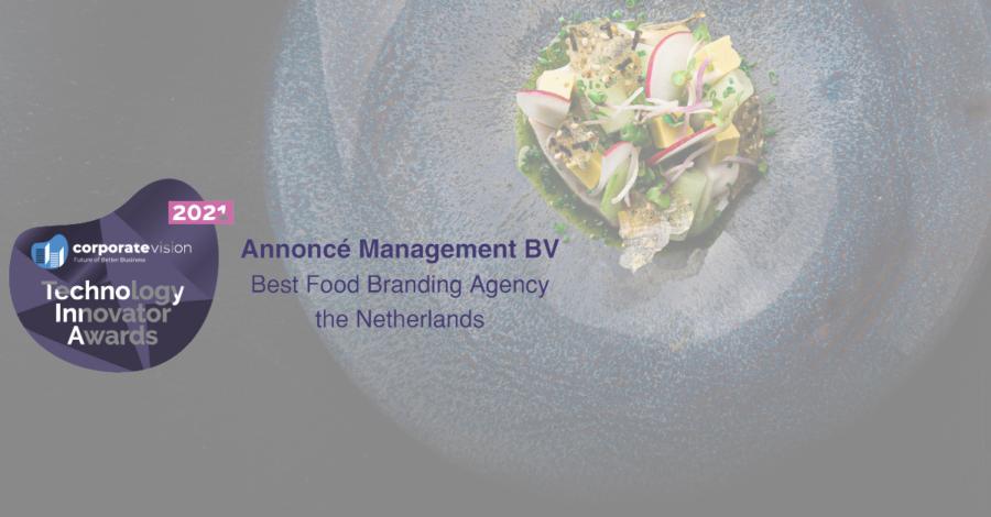 Annoncé Management benoemd tot Best Food Branding Agency in Nederland